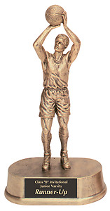 HR15 Resin Boys Basketball Trophies, 6 levels of pricing, scroll down for more information.