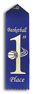 Pre-Printed Basketball Ribbons will Ship Same or Next Day