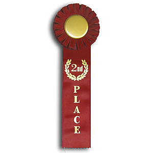 Generic Stock Horse Show Rosette Ribbons Colors