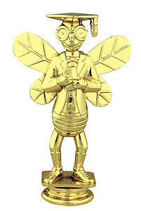 Knowledge Bee Trophy Figure 82515