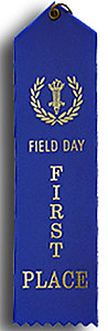 Field Day Ribbons Sold in Packs of 25 as Low as $8.00 per Pack