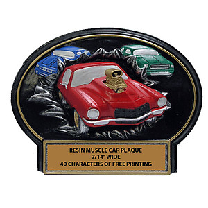 Muscle Car Show Plaques