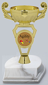 Agility Dog Trophies