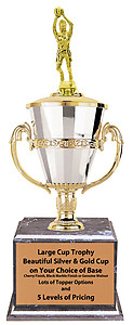 Female Large Cup Basketball Trophies,as low as $42.99