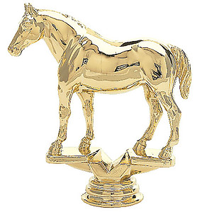 Quarter Horse Trophy Figure