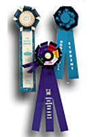 Custom Rosettes and Ribbons