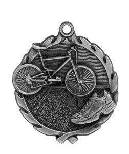 One and three quarters Triathlon Medals 32177 Series as Low as $1.85