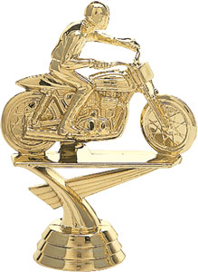 Motorcycle Flattrack Trophy Figure