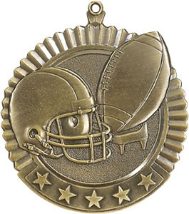 36040 Huge Football Medals with Six Pricing Options