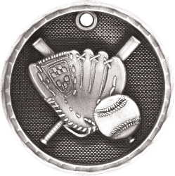 3D201 Baseball Medal with Six Pricing Options