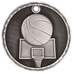 3D202 Basketball Medal with Six Pricing Options