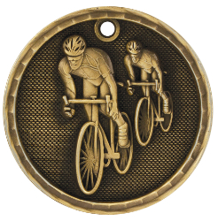 3D203 Bicycling Medal with Six Pricing Options