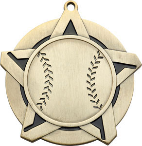 43130 Baseball Medal with Six Pricing Options
