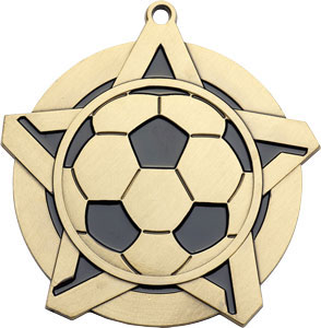 43170 Soccer Medal with Six Pricing Options