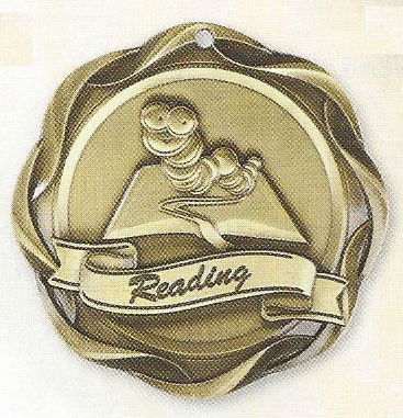 45007 Fusion Reading Medals with Six Pricing Options