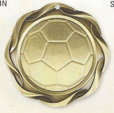 45015 Fusion Soccer Medals with Six Pricing Options