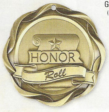 45028 Fusion Honor Roll Medals with Six Pricing Options