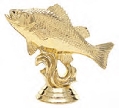 Perch or Crappie Fishing Trophy Figure 457