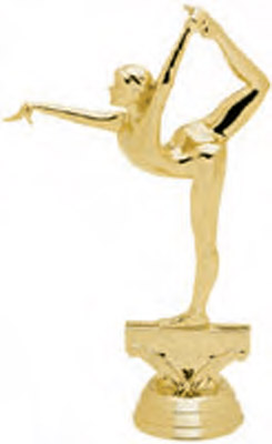 Female Gymnast Trophy Figure 5054