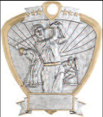 Men's Resin Golf Plaque Award 58621