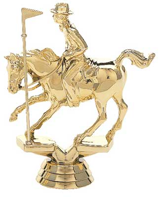 Pole Bending Trophy Figure 708
