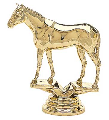 Thoroughbred Horse Trophy Figure 714