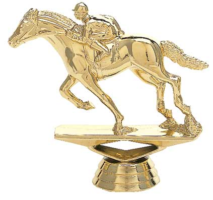 Race Horse Trophy Figure 715