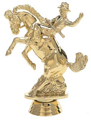 Bucking Bronc Rodeo Trophy Figure 720-G