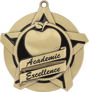 43029 Academic Excellence Medal with Six Pricing Options