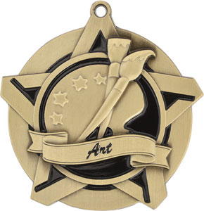 43001 Art Medals with Six Pricing Options as low as $1.40