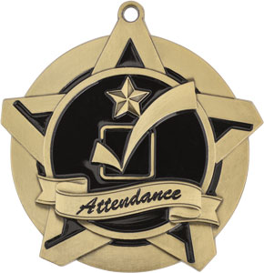 43016 Attendance Medals with Six Pricing Options as low as $1.40
