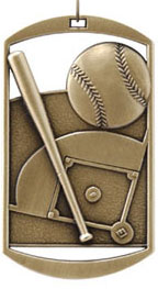 DT201 Dog Tag Baseball Medal with Six Pricing Options