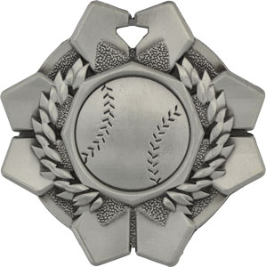43603 Imperial Baseball Medal with Six Pricing Options. As low as $.99