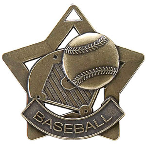 XS204 Baseball Medal with Six Pricing Options