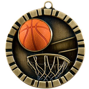 IM211 Basketball Medal with Six Pricing Options