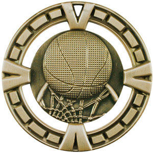 BG403 Big Basketball Medal with Six Pricing Options