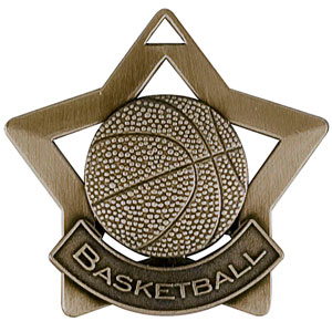 XS205 Basketball Medal with Six Pricing Options