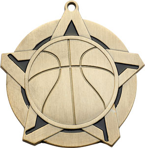 43020 Basketball Medal with Six Pricing Options