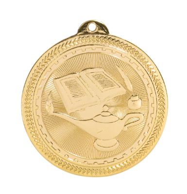 BL309 Lamp of Knowledge Medal with Six Pricing Options