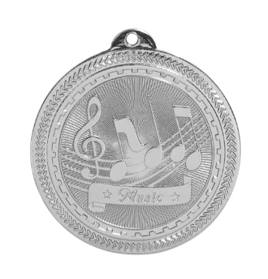 BL311 Music Medal with Six Pricing Options