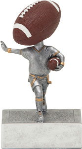 Bobble Head Flag Football Trophies 52045gs