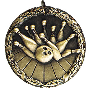 XR221 Bowling Medals with Six Pricing Options