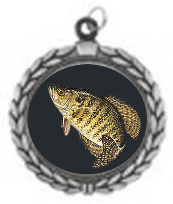 Bass and Crappie Fishing Medals as Low as $1.90