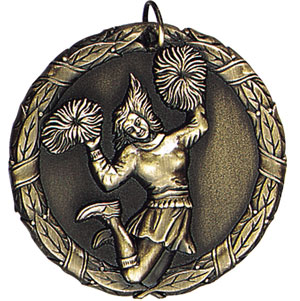 XR227 Cheerleader Medals with Six Pricing Options