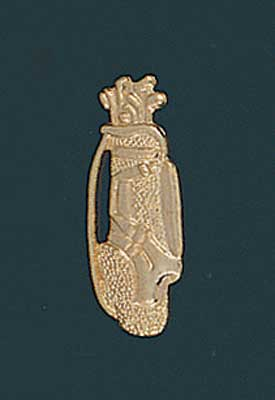 Chennille Golf Letter Pin 129