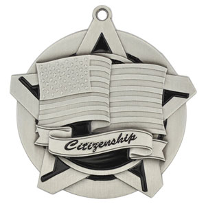 43023 Citizenship Medals with Six Pricing Options as low as $1.40