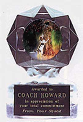 Acrylic Star Ice Coon Hunt Trophy Award