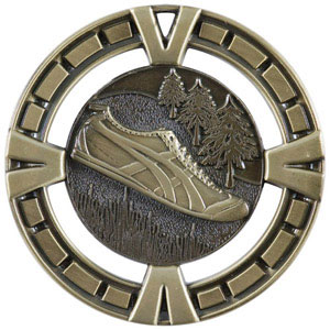 BG455 Big Cross Country Track Medal with Six Pricing Options
