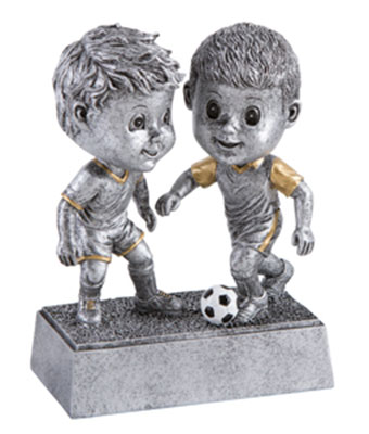 Boys Bobble Head Soccer Trophies