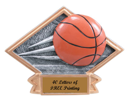 DPS 11-61 Resin Basketball Plaques as Low as $6.99